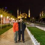 Kris e Igor em Outubro de 2012 em Istanbul